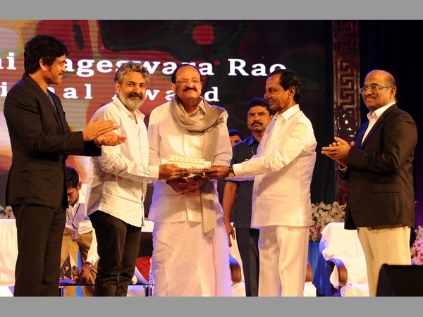 Rajamouli Receives The Anr National Award