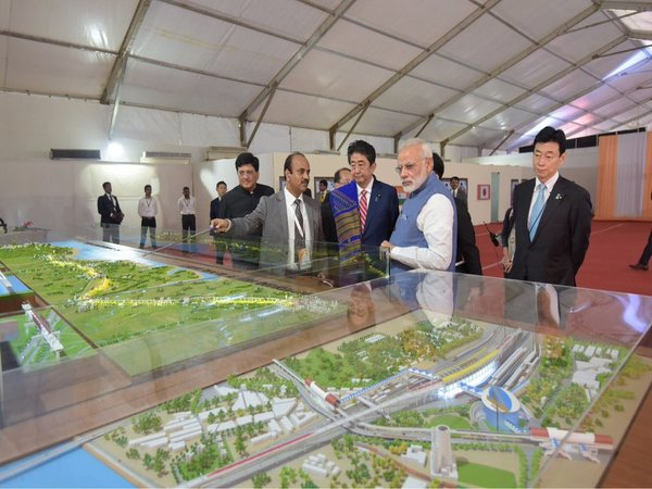 Bullet Train Project Launched Pm Thanks Japan S Abe Gift