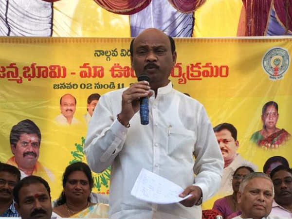 ayyanna patrudu fires at YSRCP leaders in ganja supply issue