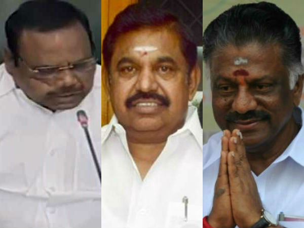 Tn Assembly Speaker Holding Meeting With Cm Dcm At Secretar