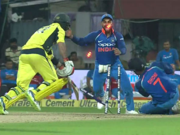 Watch Ms Dhoni Stumps Glenn Maxwell With His Lightning Quick Glove Work
