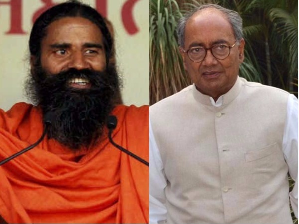 Disappointed over Ramdev's name missing from 'fake baba' list: Digvijaya