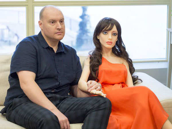 Sex Robot Inventor Insists I M No Pervert After Doll Shout I Can Take Many Times