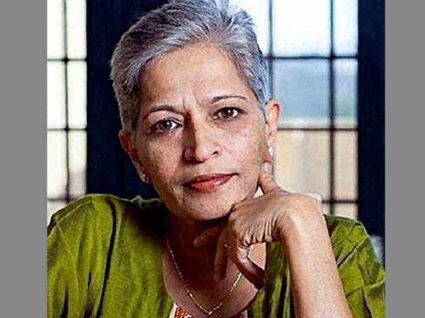 Gauri Lankesh Saw Killer S Face Shows Cctv Footage