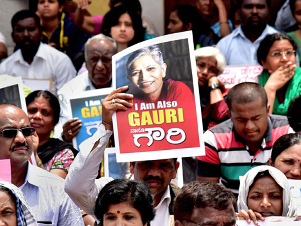 Rip Gauri Lankesh The Journalist Activist Who Had The Courage To Speak Her Mind Openly