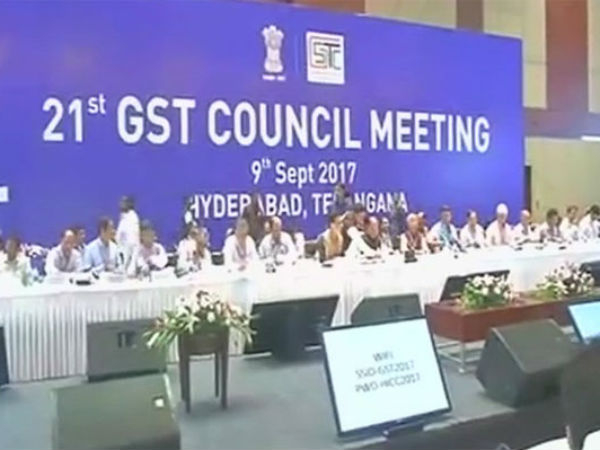 21st GST Council meeting begins in Hyderabad