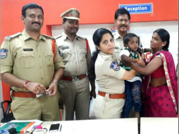 Four Year Old Hyderabad Boy Rescued Two Weeks After Kidnap