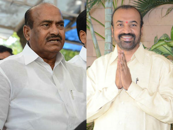 Political Heat Up Anantapur Due Mp Jc Diwakar Reddy Mla Prabhakar