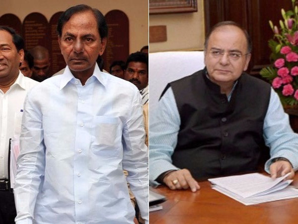 CM KCR Meets Arun Jaitley.. Discuss various State Issues