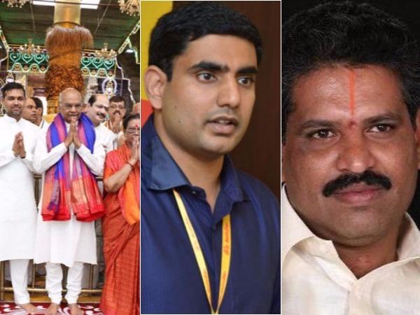 President Ramnath Kovind Visited Tirupati Along With Governo