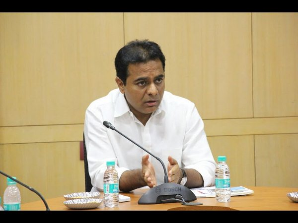 Telangana It Minister Fires On Opposition Parties