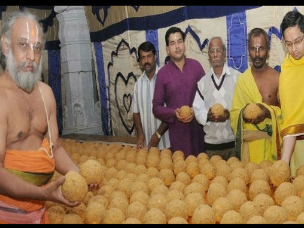TTD Takes FSSAI Licence For Laddu