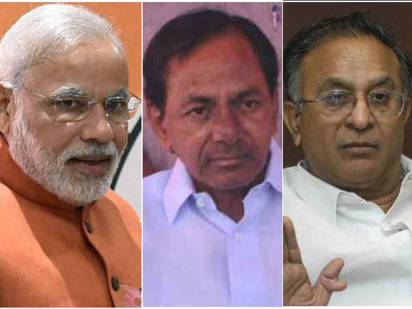 Modi Kcr Are Same Telling Beautiful Lies Says Congress Senior Leader Jaipal Reddy