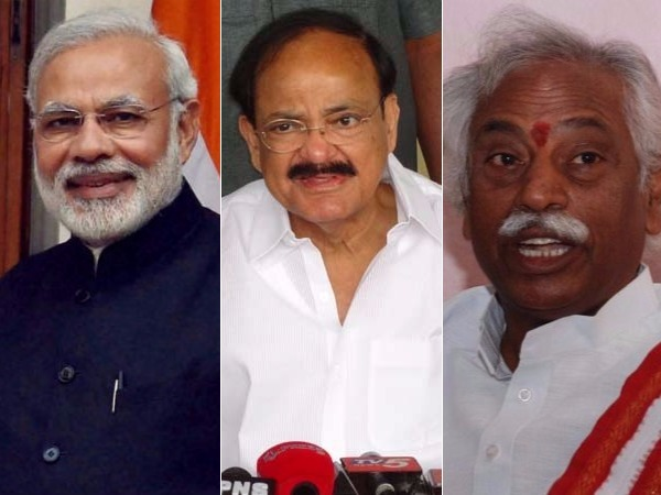 No Place Telugu States Union Cabinet Reshuffle