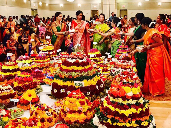 newyork telangana american telugu association batukamma celebrations