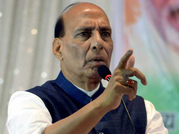 Rajnath Singh hold public meeting at Nizamabad, TRS leader DS son join's BJP