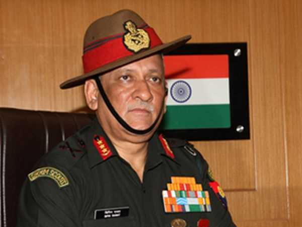 China, Pakistan not a threat to India, army chief general Rawat now says
