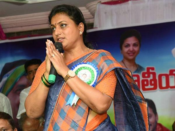 Roja Is Iron Leg Says Minister Ayyanna