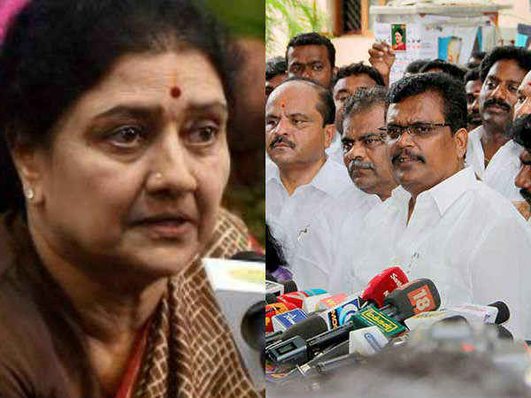 Tn Cm Meets Discusses With Minister About Dinakaran Faction
