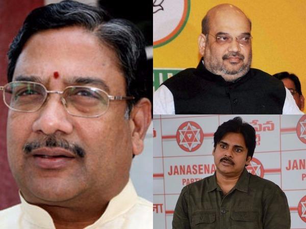 Bjp Jana Sena Alliance With Tdp 2019 Elections Says Kala Venkata Rao