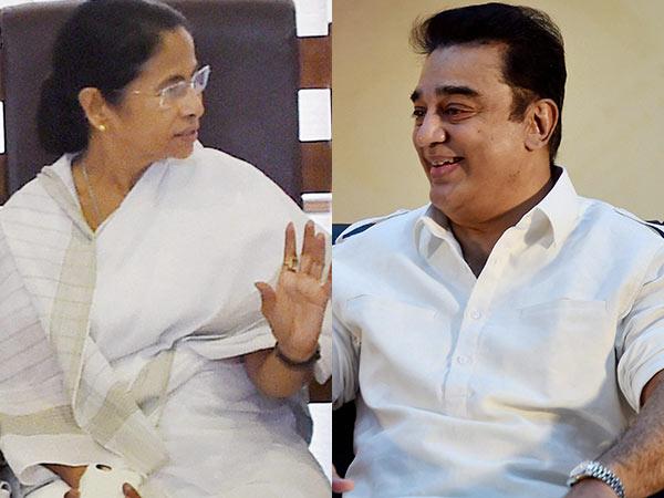 Kamal Haasan Meet Wb Cm Mamatha Banarji Soon