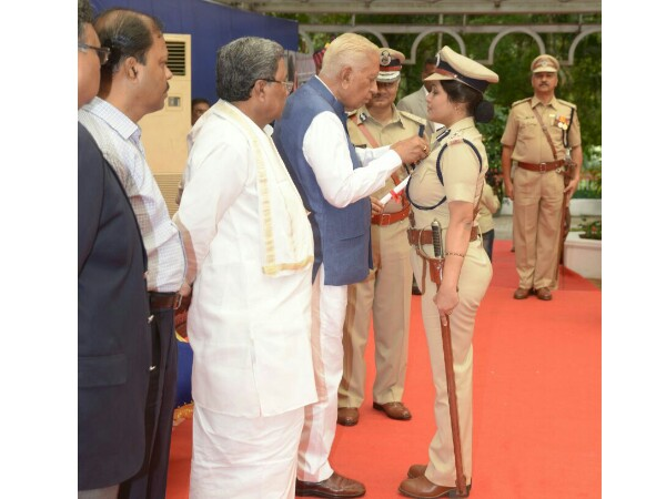 President's medal for former DIG D Roopa who exposed alleged jail irregularities