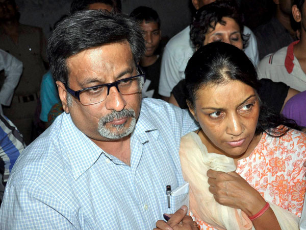 It's scary to go back into world: Talwars after acquittal in Aarushi murder case