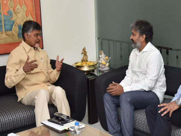 Chandrababu responds on ss rajamouli and ys jagan padayatra