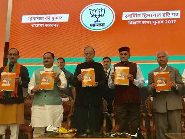 Himachal polls: BJP releases vision document; focus on jobs, women's safety