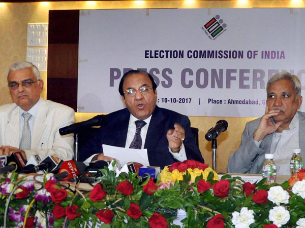 CEC Released Schedule for Gujarat Assembly Elections 2017
