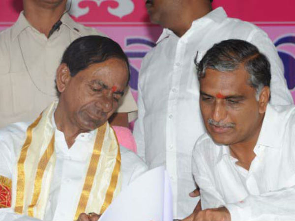 Telangana CM KCR makes funny comments on KTR and Harish Rao