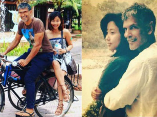 Milind Soman Posts Pic With Girlfriend Ankita