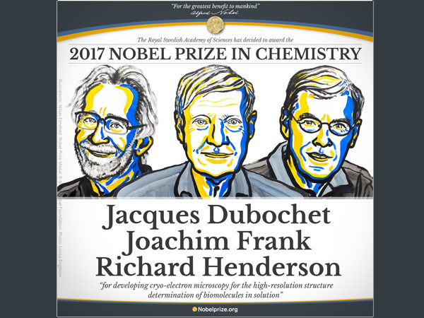 Nobel prize in chemistry awarded for method to visualise biomolecules