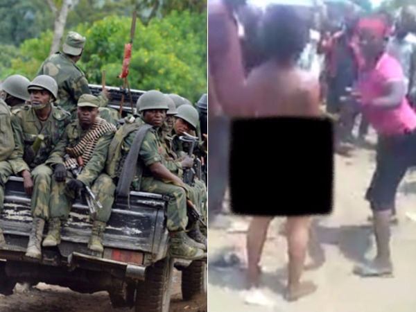 Woman Was Raped Whipped Decapitated Front A Cheering Crowd