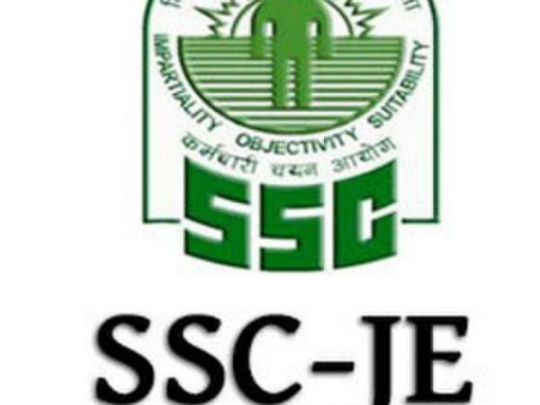 SSC JE Recruitment 2017-18 Apply For Junior Engineer Posts