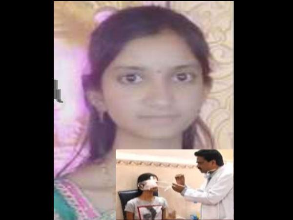 గురునానక్ కాలేజీ వేడుకల్లో అపశృతి: విద్యార్థిని కంట్లో దిగిన 'రాకెట్'