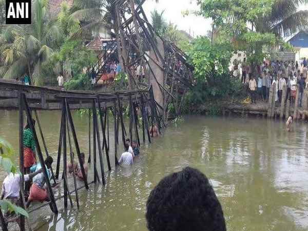Kerala: One dead, 57 injured as foot overbridge collapses at Chavara in Kollam