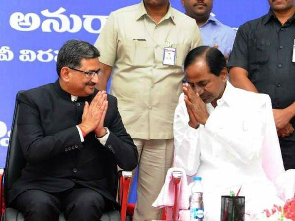 Telangana Govt Felicitation Retired Dgp Anurag Sharma