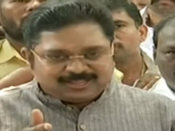 TTV Dinakaran says that he is not Gandhi's grand son