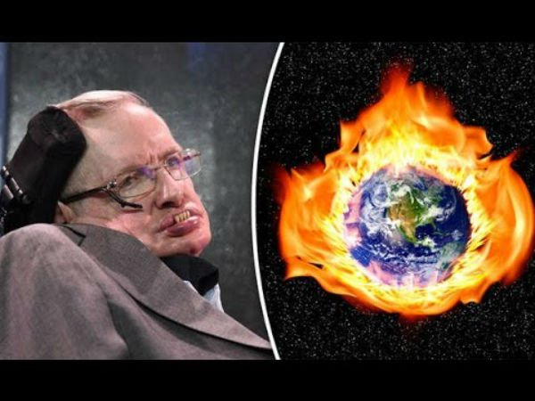 Stephen Hawking: Humans will turn Earth into a giant ball of fire by 2600