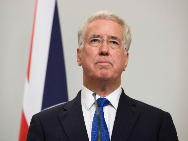 British Defense Secretary Michael Fallon resigns after allegations of inappropriate sexual behavior