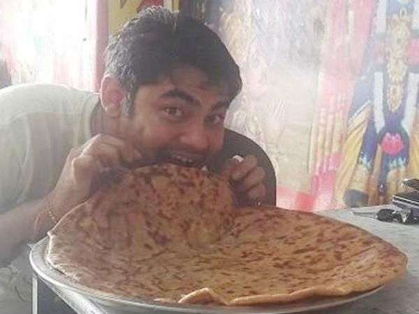 This Restaurant Will Give You Free Food For Life If You Finish Three Parathas Within 50 Minutes