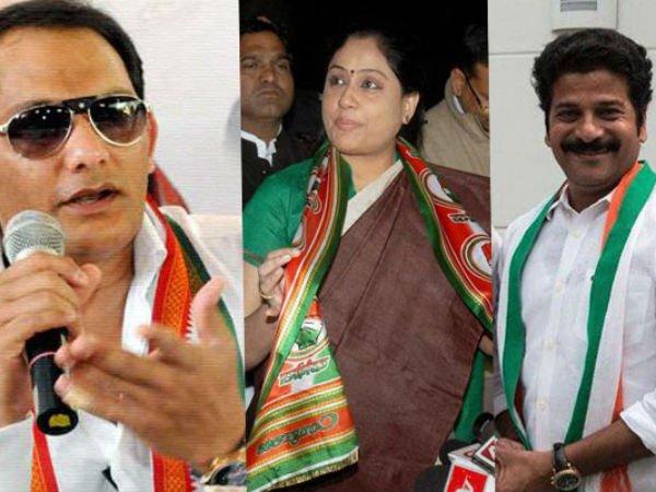 3 Popular Faces Lead Congress Telangana