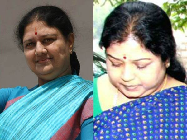 IT Officials conduct the enquiry with Sasikala and Ilavarasi in the Bengaluru Prison