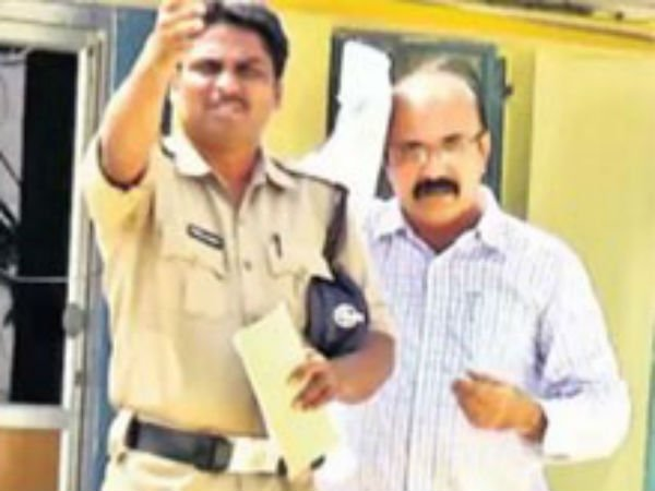 YS Vivekananda Reddy's relative arrested