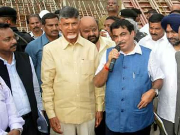 Nitin Gadkari review on polavaram project