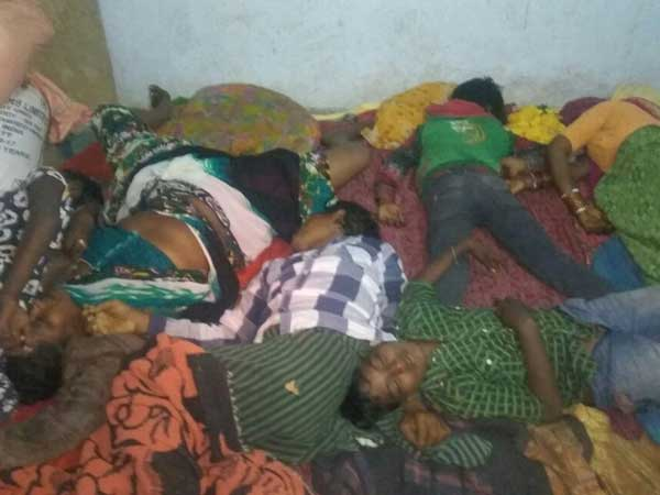 Seven die in a family at Pamukunta