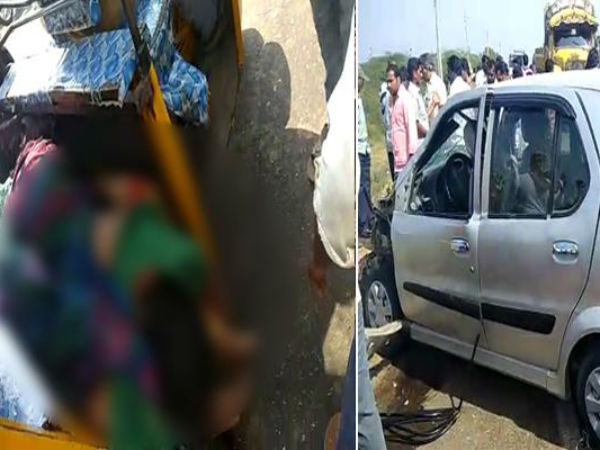 Accident in Mylavaram: four killed