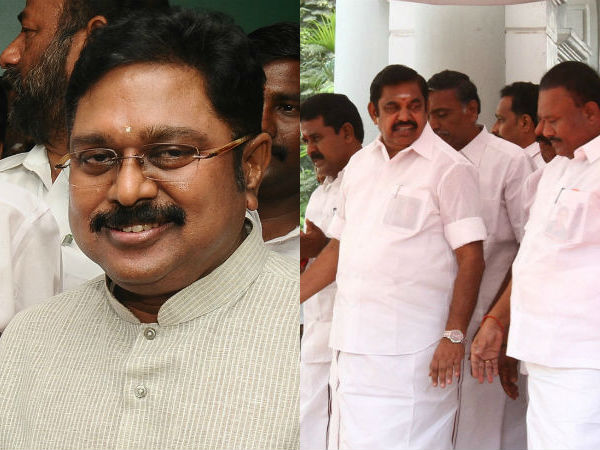 TTV Dinakaran has the master plan to drag MLAS from CM Palnisamy faction