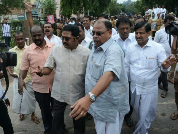 Police not given permission do campaign in RK Nagar for TTV Dinakaran